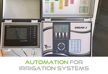 Automation for irrigation systems